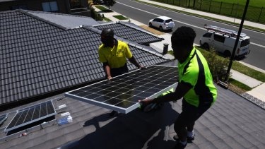 Poorer households switching to solar faster than the rich