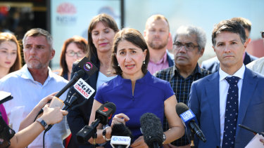 NSW Premier Gladys Berejiklian has said she wanted to make music festivals safer.