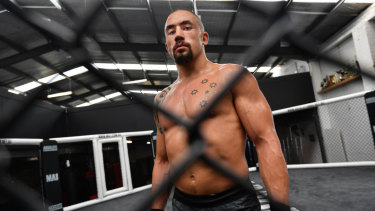 Australia's Rob Whittaker is out.
