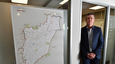 Independent Morwell MP Russell Northe.