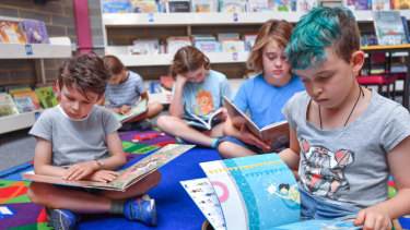 Students at Brunswick South West Primary School now have access to a culturally diverse collection of books.