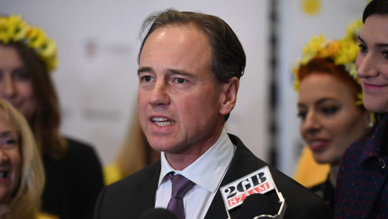 Health Minister Greg Hunt has extended the opt-opt period for My Health Record.