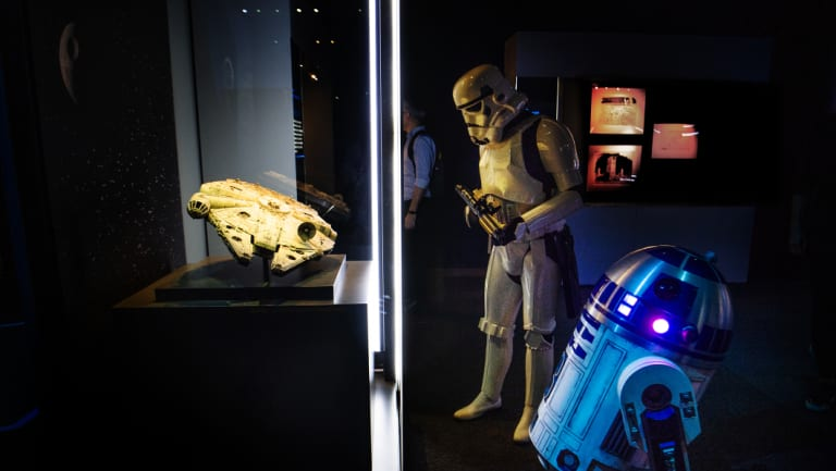 Are you a Wookiee or Jedi Knight? Or maybe an Ewok with fighter-pilot skills? The new Star Wars exhibition leads visitors on an identity quest.