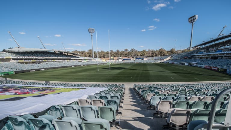 Canberra Stadium is one of the oldest venues in the NRL and Super Rugby.