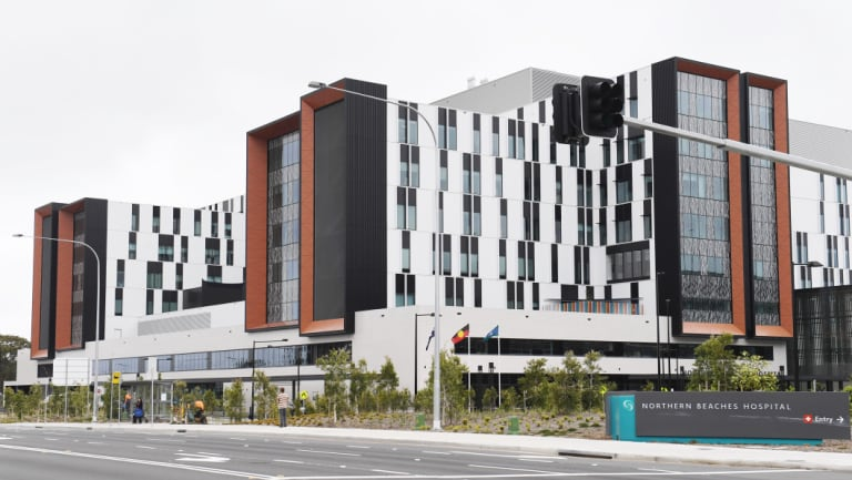 The new Northern Beaches Hospital in Frenchs Forest.