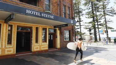The beach-side Hotel Steyne was one of the properties sold and snapped up this year.