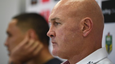 Left-field thinking: St George Illawarra coach Paul McGregor.