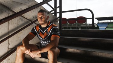 Optimism: Farah is raring to go against Manly at Leichhardt on Saturday.