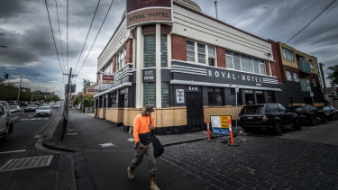 Richmond's Royal Hotel, which is one of the last topless pubs in Melbourne.
