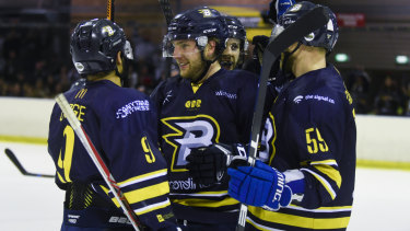The Canberra Brave secured the AIHL minor premiership on Sunday.