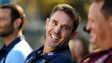 Success: Brad Fittler's alternative approach paid dividends for the Blues in 2018.