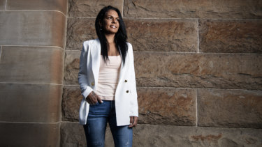 Indigenous lawyer and human rights advocate Teela Reid, who worked on the Uluru Statement from the Heart.