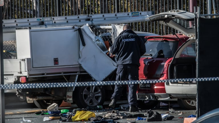 Parent killed after vehicle explosion at St Clkare of Assisi primary school in Conder.