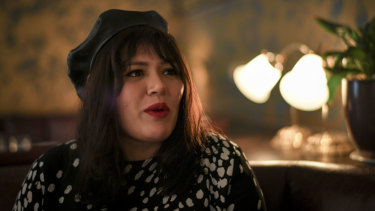 Nakkiah Lui dines with Michael Lallo in Melbourne's Mayfair restaurant.