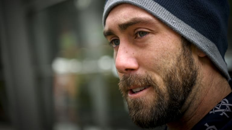 Recovery: Glenn Maxwell has regained confidence in his shoulder.