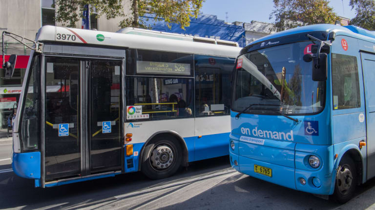 On-demand buses have been running in a handful of inner-west suburbs since the start of July.