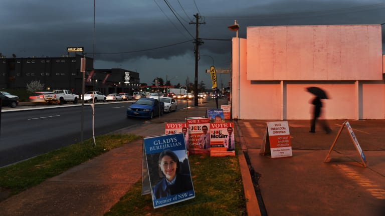 Storm clouds gather over Wagga Wagga ahead of Saturday's byelection