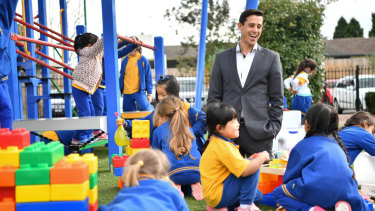 Julian Growcott, who has been a teacher for 20 years, now wants to work as a principal.