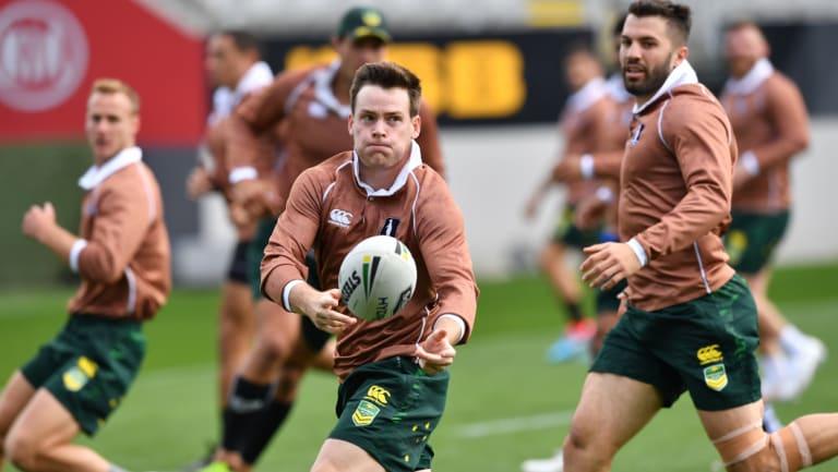 New blood: Roosters five-eighth Luke Keary will steer the Kangaroos around on his Test debut.