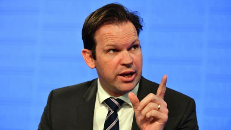 Resources Minister Matt Canavan
