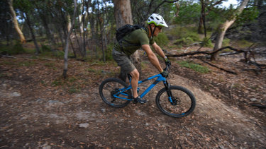 There are concerns about the environmental damage mountain bike riding is doing in Yarra Bend Park.