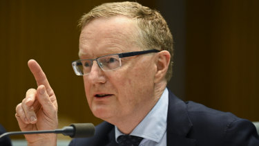 Governor of the Australian Reserve Bank, Philip Lowe.
