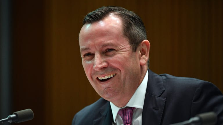 WA Premier Mark McGowan said the surplus would be substantial.