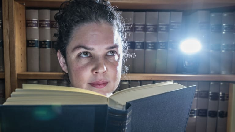 ANU lawyer Dr Imogen Saunders.