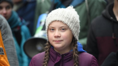 Swedish climate activist Greta Thunberg, 16, started a global campaign for student action.