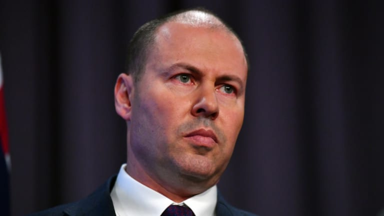 Josh Frydenberg faces a challenge on credit lending this year.