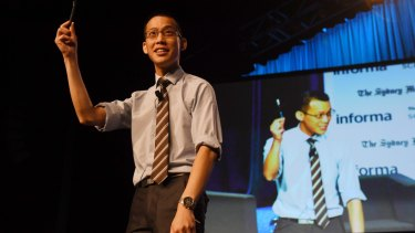Maths teacher Eddie Woo set up his on YouTube channel with great success.