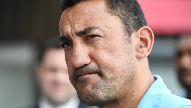'Hopefully [the Waratahs] have a successor within our own coaching ranks': Daryl Gibson.