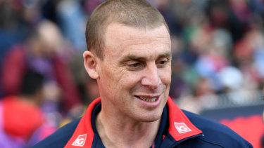 Melbourne coach Simon Goodwin.