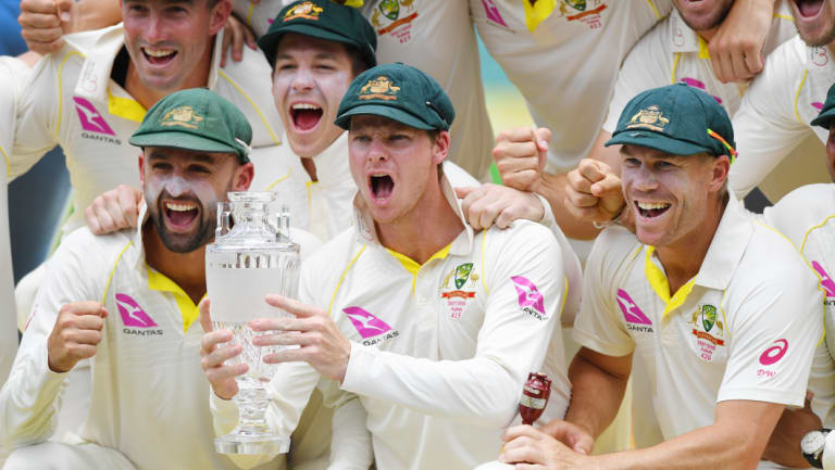 Magellan was the naming rights sponsor of the Australian men's domestic Test series.
