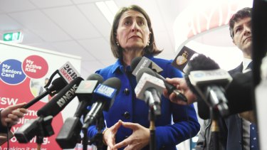 NSW Premier Gladys Berejiklian is caught in the crossfire over abortion rights.