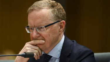Reserve Bank of Australia governor Philip Lowe in Canberra last week.