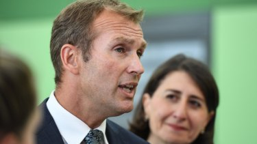 Education Minister Rob Stokes has a degree in planning law.