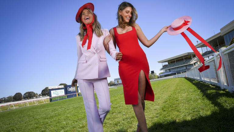 A boater or fedora style hat is a great option for taking millinery from the racetrack to the polo and summer events.