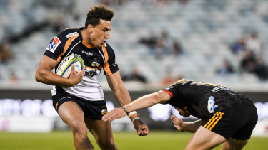 Complete package: Brumbies fullback Tom Banks is a contender for Israel Folau's fullback spot.