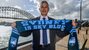 Cove favourite: Steve Corica has been announced as the new Sydney FC head coach.