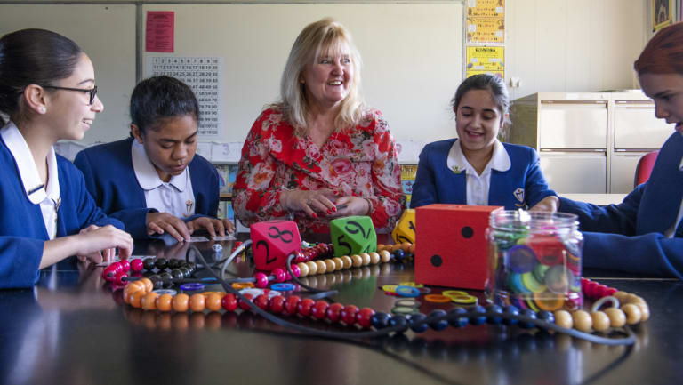 Anne-Maree McEwen, who has been teaching for 30 years, is going back to university to get a graduate certificate in maths.