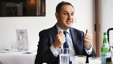 Murat Dizdar is responsible for the day-to-day operation of the state's 2200 schools.