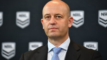Hard line: NRL chief executive Todd Greenberg says Barba won't be welcomed back.