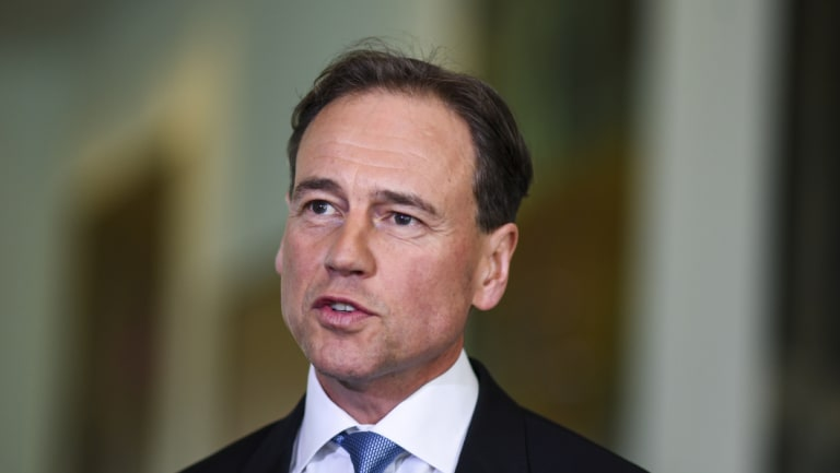 Federal Health Minister Greg Hunt says the government's My Health Record privacy bill will protect Australians
