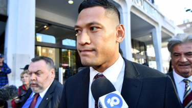 The PM has made comments on the saga surrounding Israel Folau and Rugby Australia.