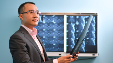 Dr Michael Wong educates patients about solutions to long-term spinal pain.