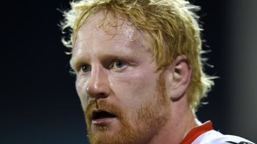 Game changer: Dragons prop James Graham broke new ground with a direct reply to my column.