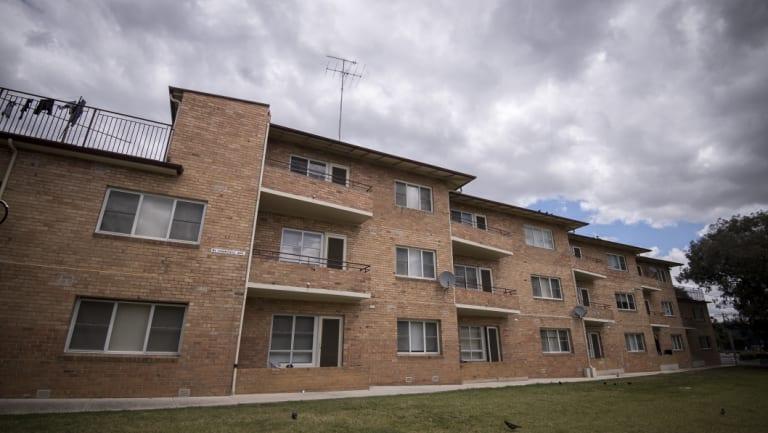 The Ascot Vale public housing estate.