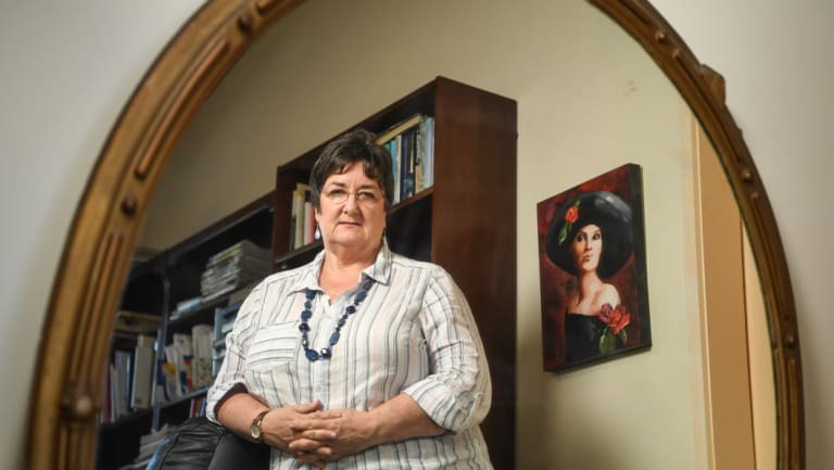 Melbourne woman Jan Marshall had her financial security robbed by a romance scammer.