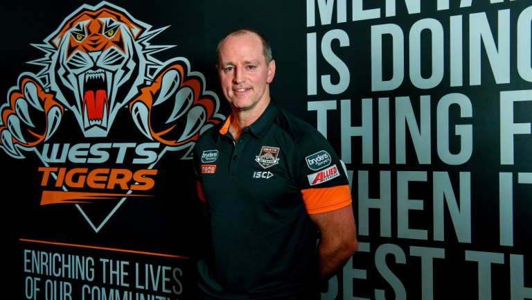 Clean slate: New coach Michael Maguire will take charge of the Tigers in their healthiest financial position for some time.